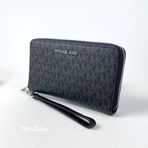 Michael Kors Large Flat MF Phone Wallet Wristlet
